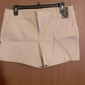 NWT! Ny&co Khaki color shorts